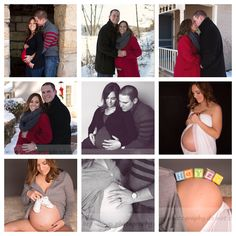 Some of our Winter Maternity photo session