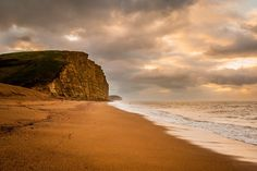 Sunday morning Dorset landscape photography shot of West Bay