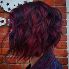Magenta Hair Colors, Fall Hair Colors, Hair Color For Black Hair, Cool Hair Color, Short Red Hair, Black Wig, Brown Hair, Big Cornrows Hairstyles, Creative Hair Color