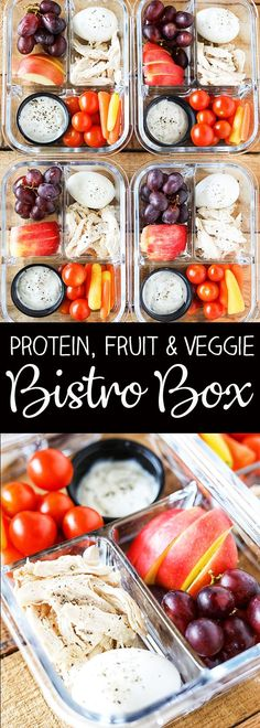 Protein Fruit and Veggie Meal Prep Bistro Box - Zero Weight Watchers Freestyle P. - Protein Fruit and Veggie Meal Prep Bistro Box – Zero Weight Watchers Freestyle Points - Healthy Recipes, Veggie Recipes, Healthy Drinks, Lunch Recipes, Ww Recipes, Recipies, Weight Eatchers Recipes, Dinner Recipes, Healthy Snack Recipes For Weightloss