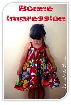 tuto robe diy dress http://laruchedelorine.blogspot.fr/# adorable little French dresses!