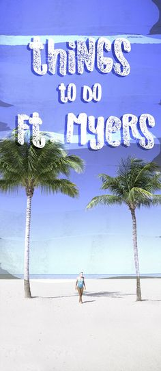 With an average of 271 sunny days a year there isn't a bad time to visit Fort Myers, Florida USA. The beaches are gorgeous & there is a ton of things to do in Fort Myers! Travel in North America. Florida Usa, Fort Myers Beach Florida, Visit Florida, Florida Vacation, Florida Travel, Florida Beaches, Asia Travel, Vacation Spots, Travel Usa