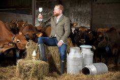Graham's The Family Dairy has become the first UK Dairy to appoint a Milk Sommelier, Doug Wood. #MilkSommelier #Milk