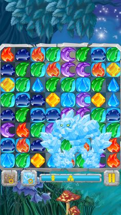 App Shopper: Moon Jewels - Match 3 Puzzle Game (Games)