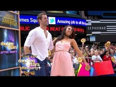 William Levy, Cheryl Burke Perform Cha-Cha Live on 'GMA' as 'Dancing with the Stars' Names Winner Donald Driver, Cheryl Burke, Prom Dresses, Formal Dresses, Dancing With The Stars, Abc News, New Work, Champion, Names