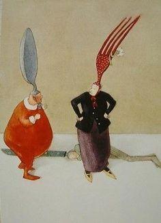 最高にロマンチックな絵本画家リスベート・ツヴェルガーの作品紹介 - NAVER まとめ
