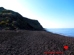 The #long #beach in #Stromboli.