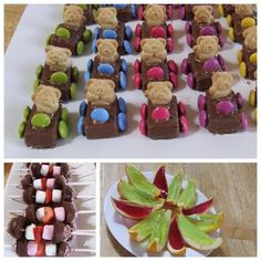Teddy cars are so cute.  Contains link to recipe