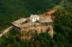 The Glozhene Monastery, an Eastern Orthodox monastery located on the northern slopes of Stara Planina in Bulgaria, near the village of Glozhene and the Cherni Vit river, 12 km from Teteven.