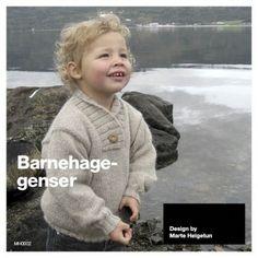 Barnehagegenser - Baby år - Materialpakker - Design by Marte Helgetun