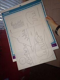Brother Scan N Cut – Applique Pattern Tutorial – PennyDog Patchwork Scan N Cut Projects, Vinyl Projects, Craft Projects, Craft Ideas, Welding Cap Pattern, Brother Scanncut2, Brother Dream Machine, Free Stencils, Cut Canvas