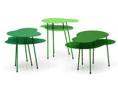 Amazonas tables by Eero Koivisto #green #furniture