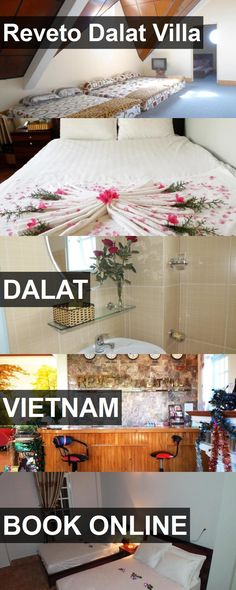 Hotel Reveto Dalat Villa in Dalat, Vietnam. For more information, photos, reviews and best prices please follow the link. #Vietnam #Dalat #travel #vacation #hotel