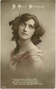 Old Fashioned Beauty Photo