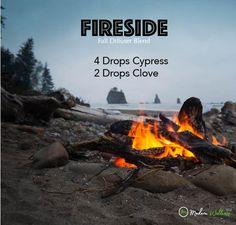 Fall Essential Oil Diffuser Blend - Fireside