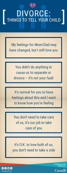 Parenting can be difficult, even when parents live together. After separation or divorce, parenting can be more challenging. Your children's basic needs don't change. There are things you can say and do to make it easier for them. Use this parenting guide to help: http://canada.justice.gc.ca/eng/fl-df/parent/mp-fdp/p1.html #ParentingDivorce