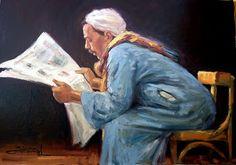 Reading and Art: Mahmoud Feteih