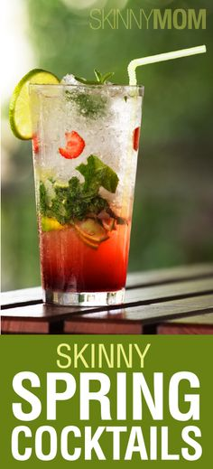 5 Skinny Spring Cocktails: Pineapple Delight, Bloody Mary, Strawberry Mojito, Sangria, & Pear Margarita