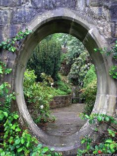 Alright guys, I've set up the portal to the castle in the secret garden. So all you have to do is step right through...