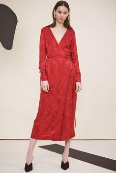 Red Wrap Dress Kitri   British Vogue