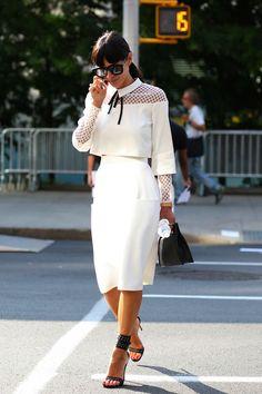 NYFW Spring 2015 Street Style - theFashionSpot