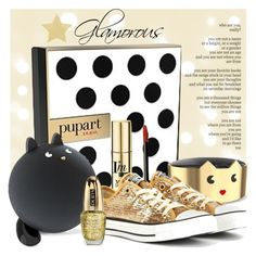 """GIFT IDEA - GLAMOROUS"" by tiziana-melera ❤ liked on Polyvore featuring beauty, Pupa and Converse"
