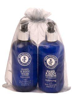 Balancing Hand & Body Organza Gift Bag (250ml) £25.99 http://www.naturesbeauties.co.uk/ourshop/prod_2508531-Balancing-Hand-Body-Organza-Gift-Bag-250ml.html