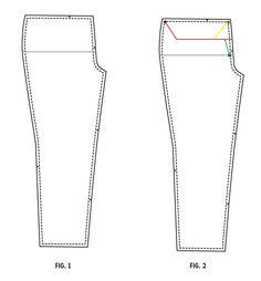 Full or Flat Belly Adjustment | Colette Patterns Sewalongs