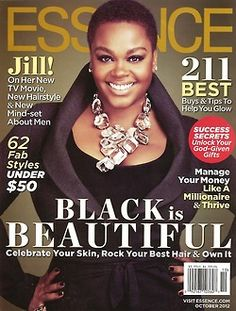Jill's ____ Essence magazine cover. I lost count.