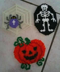 Halloween hama beads by Fifinath78