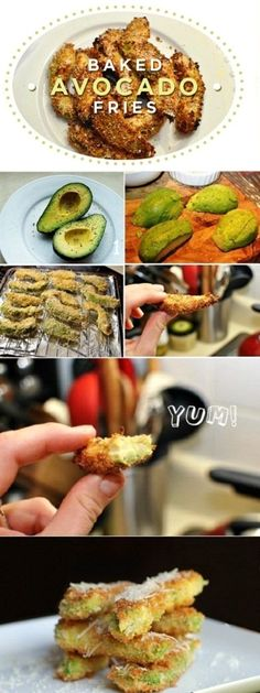Baked Avacado Fries