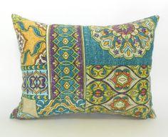 Outdoor Lumbar Pillow Cover Decorative Pillow Cover Green Pillows Richloom Outdoor Mosaic Zerego