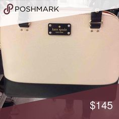 Kate spade handbag! Only used twice! Super cute!! kate spade Bags Totes