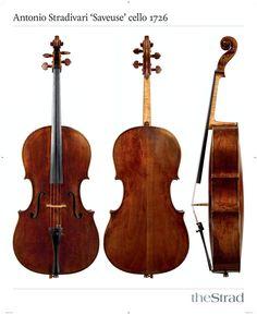Antonio Stradivari 'Saveuse' cello 1726