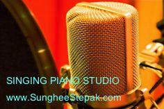 Singing Voice Vocal & Piano Lessons Vancouver  'Online lessons & Studio lessons' www.SungheeStepak.com