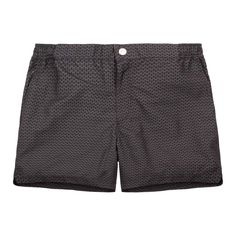 Zeus Mid Swim Short // Grey ...