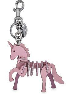 COACH Glittered unicorn bag charm