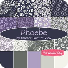 Phoebe Fat Quarter Bundle Another Point of View for Windham Fabrics - Fat Quarter Shop