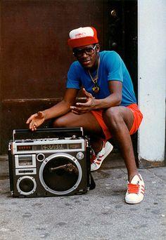 MY FAV PHOTOG Jamel+Shabazz,+Radio+Man,+Flatbush,+Brooklyn,+circa+1980