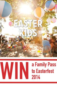 Easterfest 2014 in Toowoomba is going to be huge! Enter to win a Family Pass so you can take your family along. Family Kids, Giveaway, About Me Blog, Easter, Social Media, Crafty, How To Plan, Sewing, Day