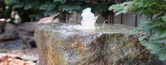 WasserspielSET ab 1000 € Fountain, Abs, Outdoor Decor, Water Games, Rockery Garden, Succulents, Deco, Crunches, Water Fountains