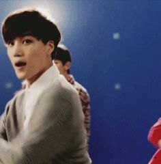 Kai and Chanyeol in EXO's new lotte duty free cf