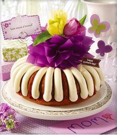 Nothing Bundt Cakes Motherly Advice Sweepstakes!