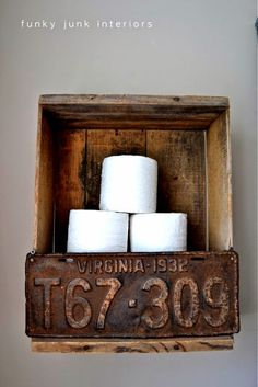 You Can Do it Youself: DIY Toilet Paper Holder That Everyone's Talking About
