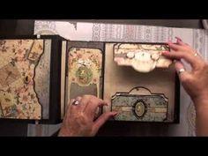 Mini Album Tutorial #2 Grahic 45 Bird Song ( mirabelle style ) - YouTube