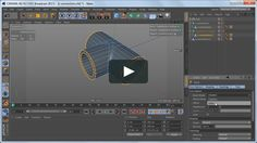 This is a short Cinema 4D tutorial showing how to model a t-connection pipe using SDS (subdivision surfaces). Enjoy!
