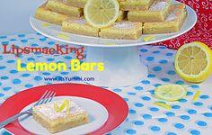 It's Yummilicious — Lips Smacking Good Lemon Bars