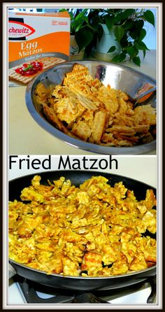 Fried Matzoh - Buttery, Crispy, Salty, Easy Comfort-Food!  Good for Passover or any day!