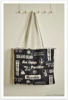 maritime Tasche - Freebook