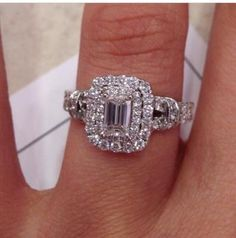 d8c3206f3e3a7 86 Best The Celebration Diamond images in 2019 | Halo rings, Wedding ...